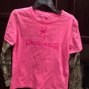 Browning Girls Youth T-shirt